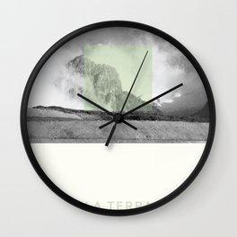 La Terra Wall Clock