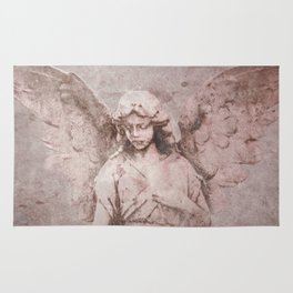 A Guardian Angel, To Watch Over Us A322b Rug