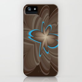 Wood flower 1 iPhone Case