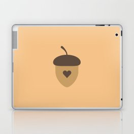 Acorn with heart T-Shirt for Women, Men and Kids Laptop & iPad Skin