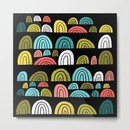 stone rainbows color Metal Print