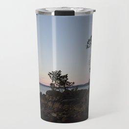 Pilkey Point Sunset Travel Mug