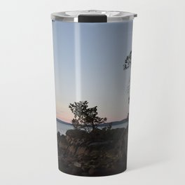 Pilkey Point Sunset Travel Mug