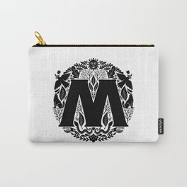 Letter M monogram wildwood Carry-All Pouch