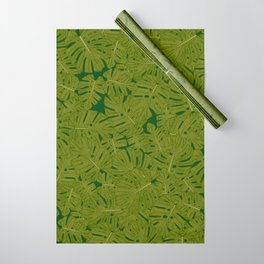 monstera leaves Wrapping Paper