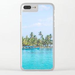 San Blas, Panama. Clear iPhone Case