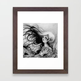 La Niña  Framed Art Print
