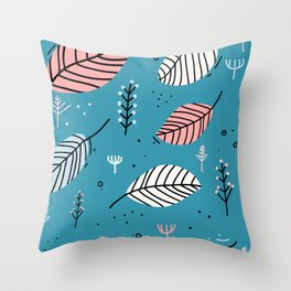 Secret Garden 2 Throw Pillow