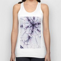 fabric Tank Tops featuring Fabric Posies by Bunny Clarke