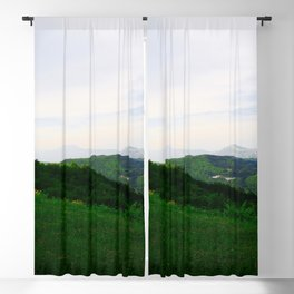 landscape near labin croatia std Blackout Curtain