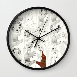 tous et chacun Wall Clock