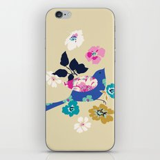 Birds and Blooms 2 iPhone & iPod Skin