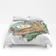 Winter Owl Comforters