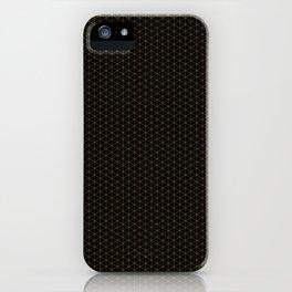 Dark night hidden stars Patterns Design iPhone Case
