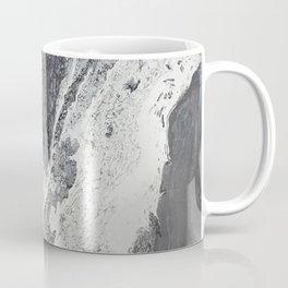 Silver Foam Coffee Mug
