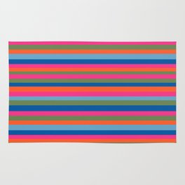 Fall Candy Stripes Rug