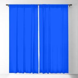 Tropical Blue Solid Color Blackout Curtain