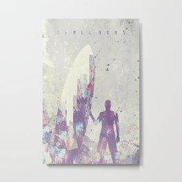 Explorers III Metal Print