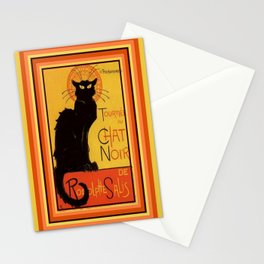 Tournee Du Chat Noir - After Steinlein Stationery Cards