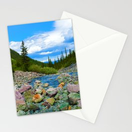 Geraldine Lakes Hike in Jasper National Park, Canada Stationery Cards