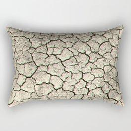 Glitchy desert Rectangular Pillow