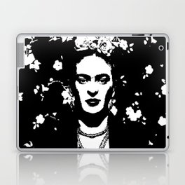 Black 'n white Frida Laptop & iPad Skin