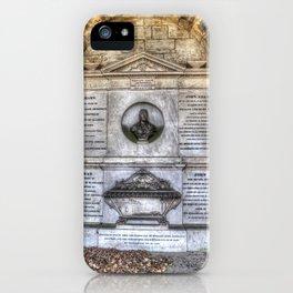John Adam Architect Greyfriars iPhone Case