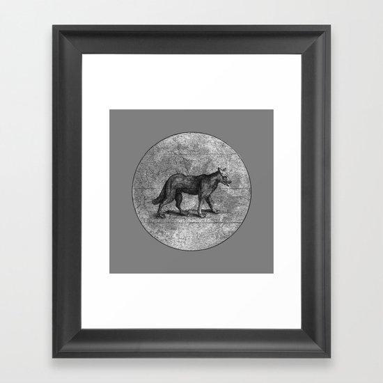 Werewolves of London Framed Art Print