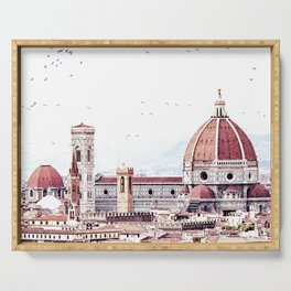 Brunelleschi's masterpiece Serving Tray