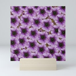 The sky is not the limit for beautiful big flowers Mini Art Print
