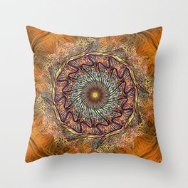 Tendril Is the Night Throw Pillow