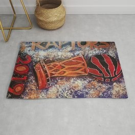 raptors 3,champion,basketball,gold,poster,wall art,2019,winners,NBA,finals,toronto,canada,painting Rug