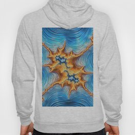 Abstract Lava Flows Hoody