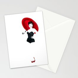 Pin up - 80s Rain Stationery Cards