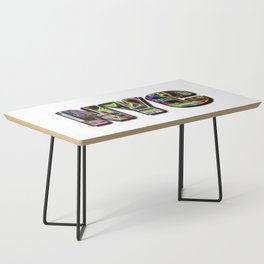 NYC (typography) Coffee Table