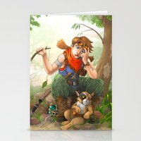 camp Stationery Cards featuring camp by Fargon