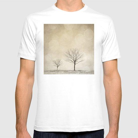 Snow Bokeh Wonderland  T-shirt
