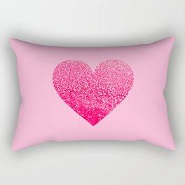PINK PINK HEART Rectangular Pillow