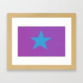 House flag, White Star Line 2 Framed Art Print