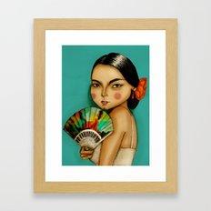 Lola Flores Framed Art Print
