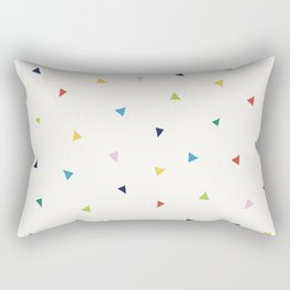 Cute Confetti Pattern Rectangular Pillow