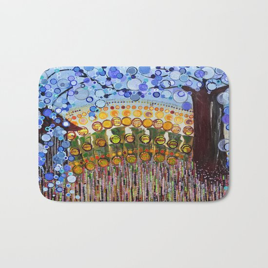 :: Indiana Blue Willow :: Bath Mat