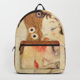 Mother and Baby - Gustav Klimt Backpack