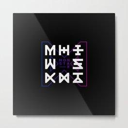Monsta X -The Code Metal Print