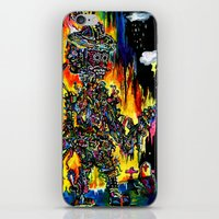 day of the dead iPhone & iPod Skins featuring Day of the Dead by C Z A V E L L E