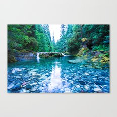 Opal Pool Canvas Print