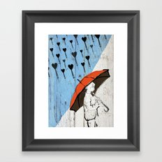 Little Boy Framed Art Print