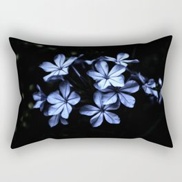 Under The Blue Moon Rectangular Pillow
