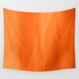 Color Serie 1 orange Wall Tapestry