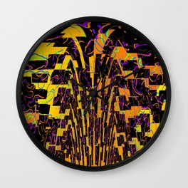 Puzzle by shards Wall Clock